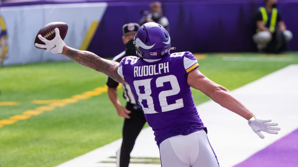 Kyle Rudolph not happy in Minnesota