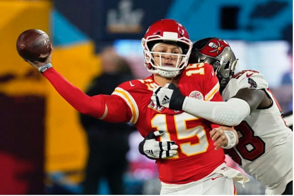 Patrick Mahomes motivated by loss