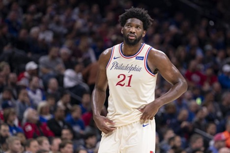 Joel Embiid scores 36 points against Dallas