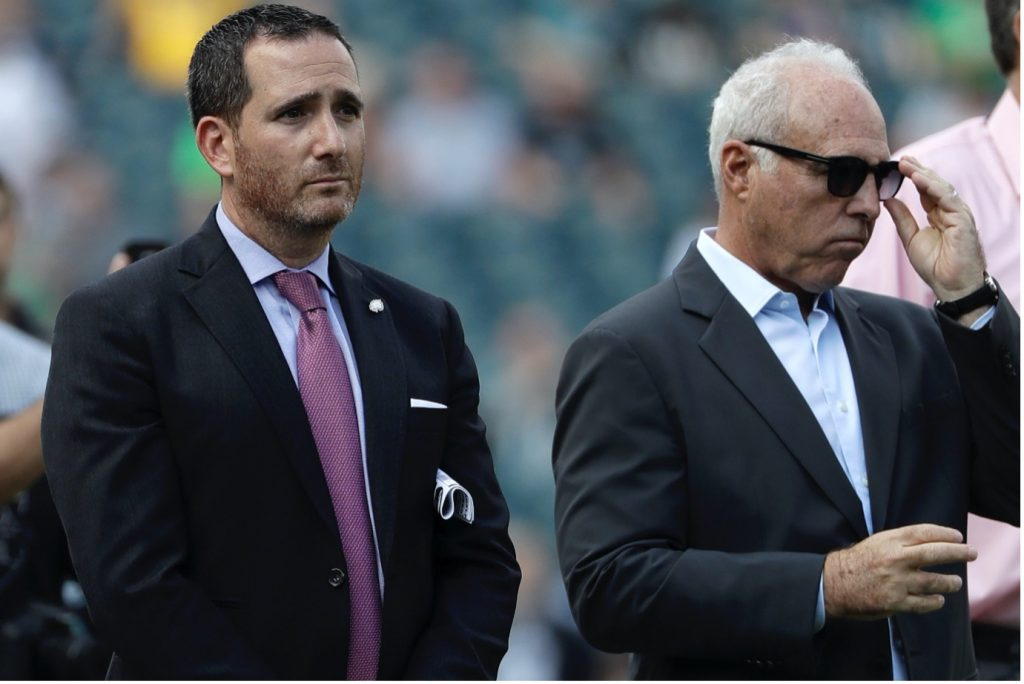 Philadelphia Eagles looking to move up