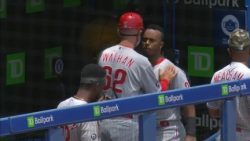 Philadelphia Phillies lose game and temper