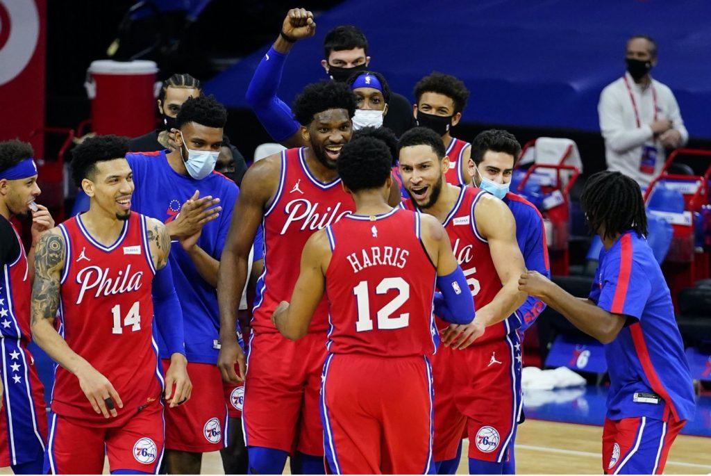 Philadelphia 76ers clinch top spot in the East