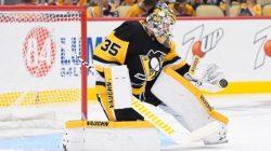 Penguins show support for Tristan Jarry