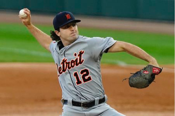 Casey Mize expecting a lighter workload