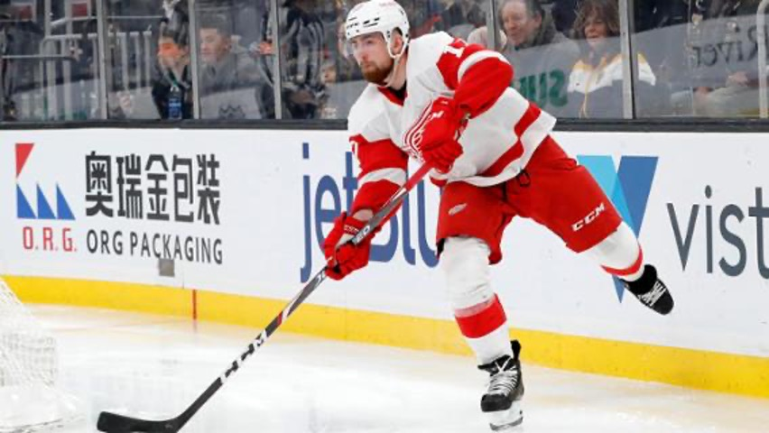 Filip Hronek signs extension with Red Wings